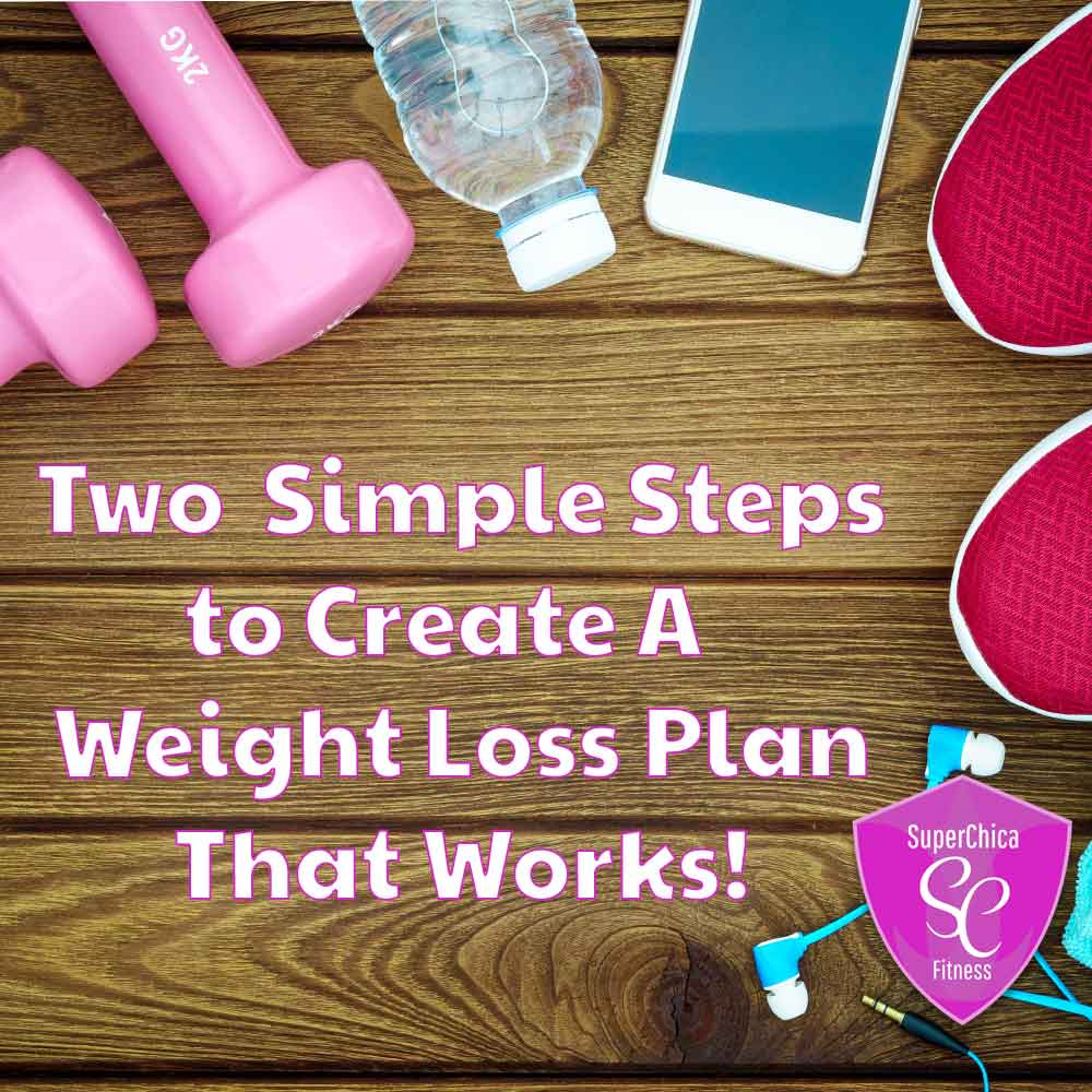 Two Simple Steps To Create a Weight Loss Plan That Works