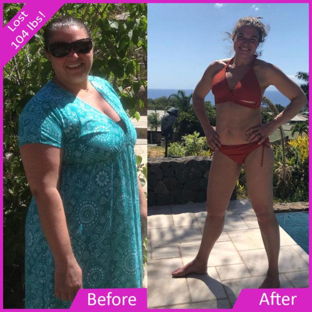 Tasha C. Lost Over 100 lbs. !
