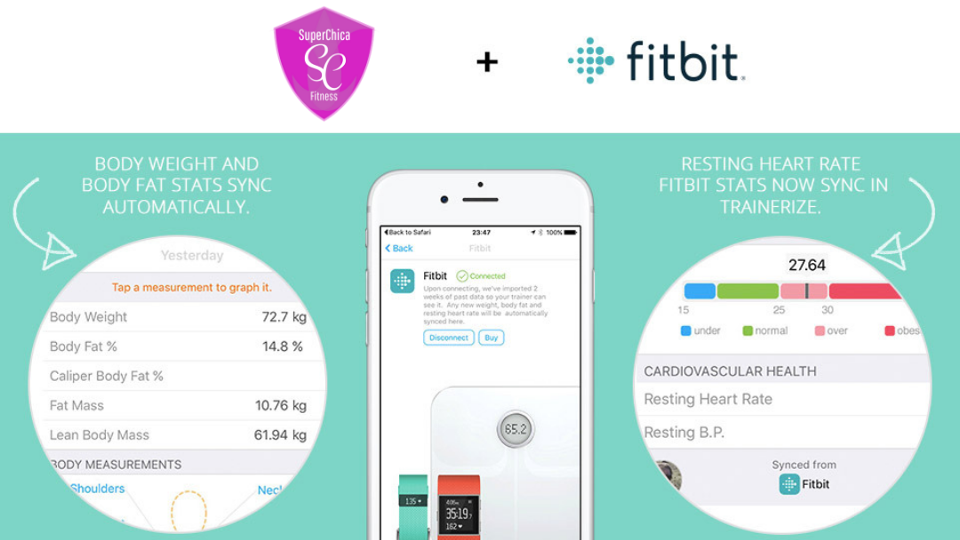 How To Connect Your Fitbit to Super Chica Tranerize App
