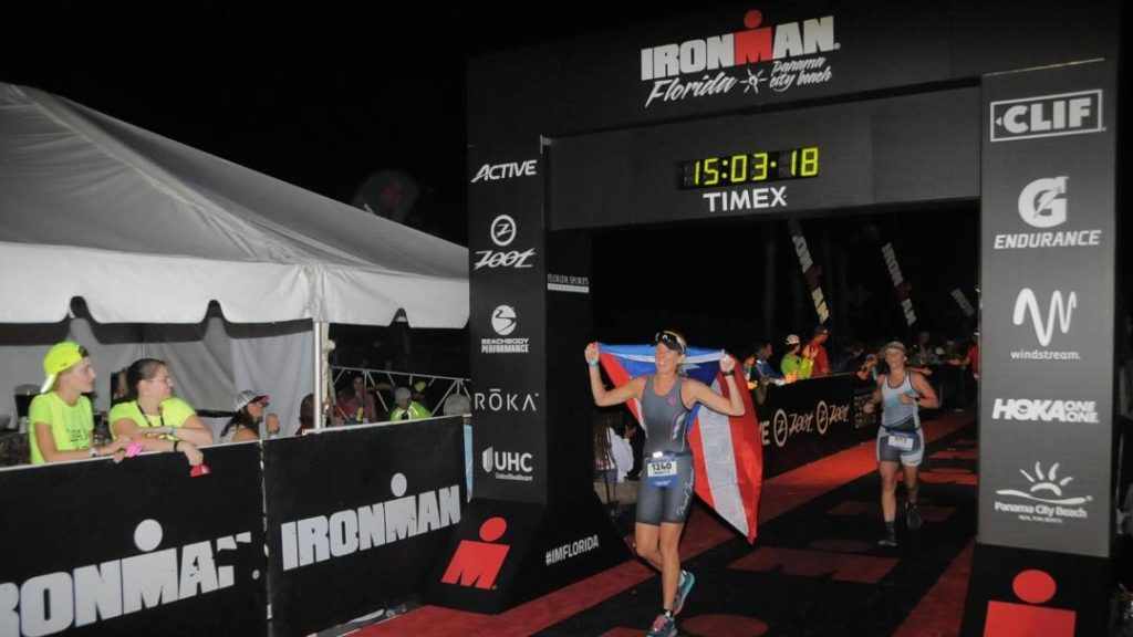 Marietta Roberts Ironman Florida Finish